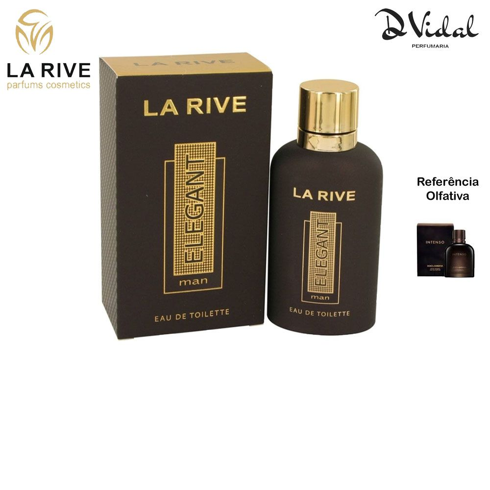 Elegant Man - La Rive Eau de Toilette - Perfume Masculino 90ml