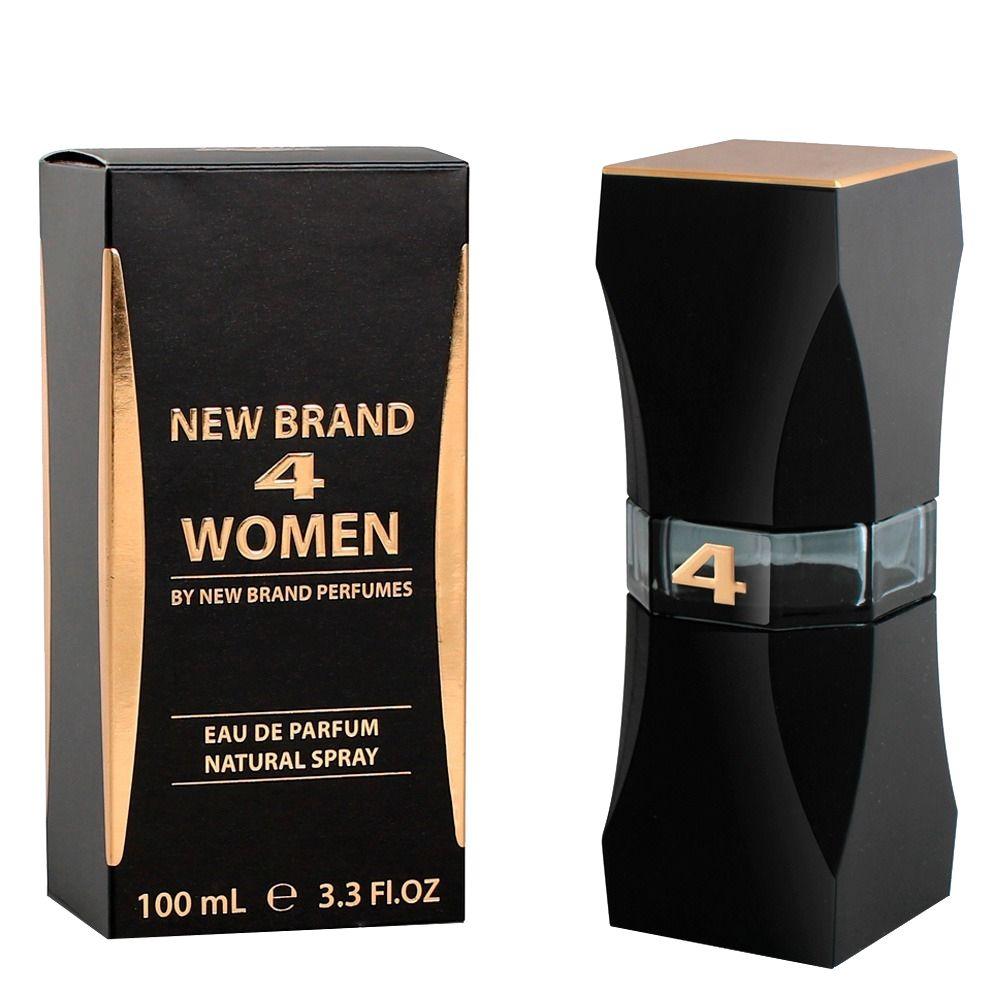 Prestige 4 Women - New Brand Eau de Parfum - Perfume Feminino 100ml