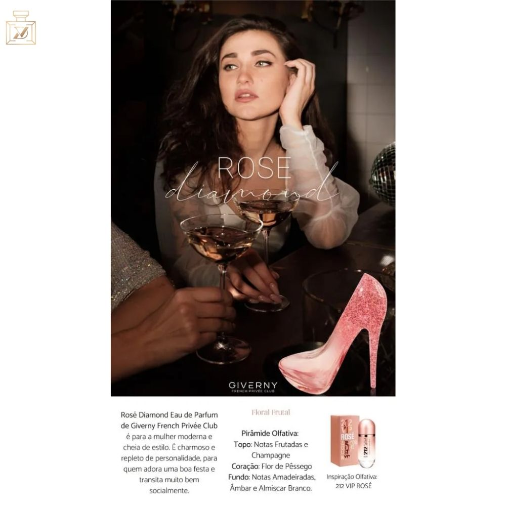 Rose Diamond VIP Giverny - 100ML