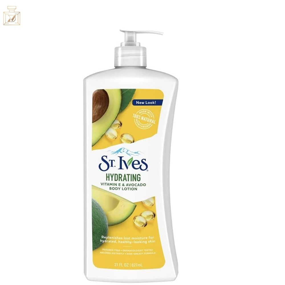 St. Ives creme corporal Humectación diaria  Vitamina Y Aguacate - 532ml