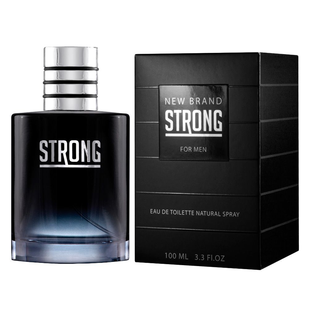 Strong - New Brand Eau de Toilette - Perfume Masculino 100ml