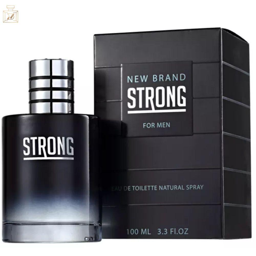 Strong - New Brand Eau de Toilette - Perfume Masculino 100ml