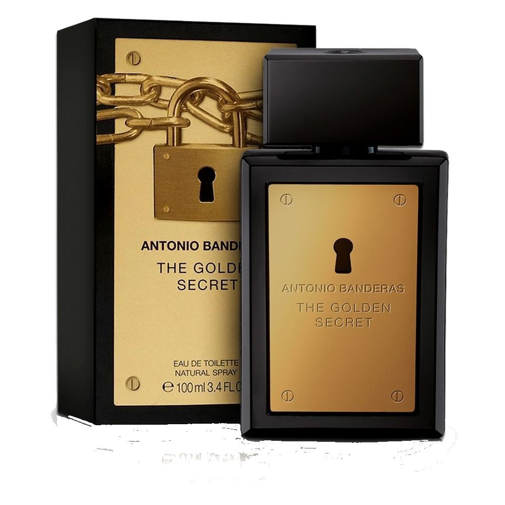 The Golden Secret - Antonio Banderas Eau de Toilette - Perfume Masculino 30ML