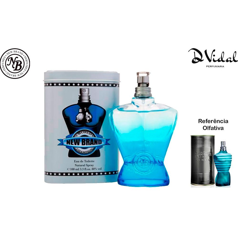 World Champion Blue - Eau de Toilette New Brand - Perfume Masculino