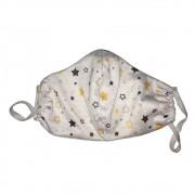 Máscara Infantil Tecido Algodão Lavável 1un - Estrelas