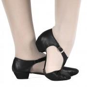 Sapato Professor Maitrê - couro com stretch