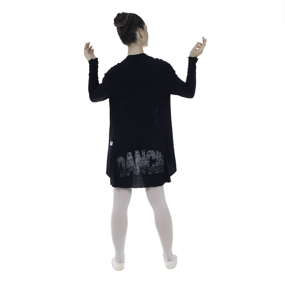 Blusa em tricozinho manga longa