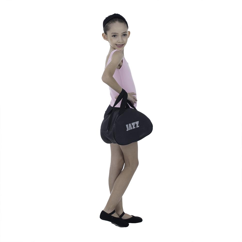 Bolsa Meia Lua Pequena com estampa JAZZ em silk - Korino