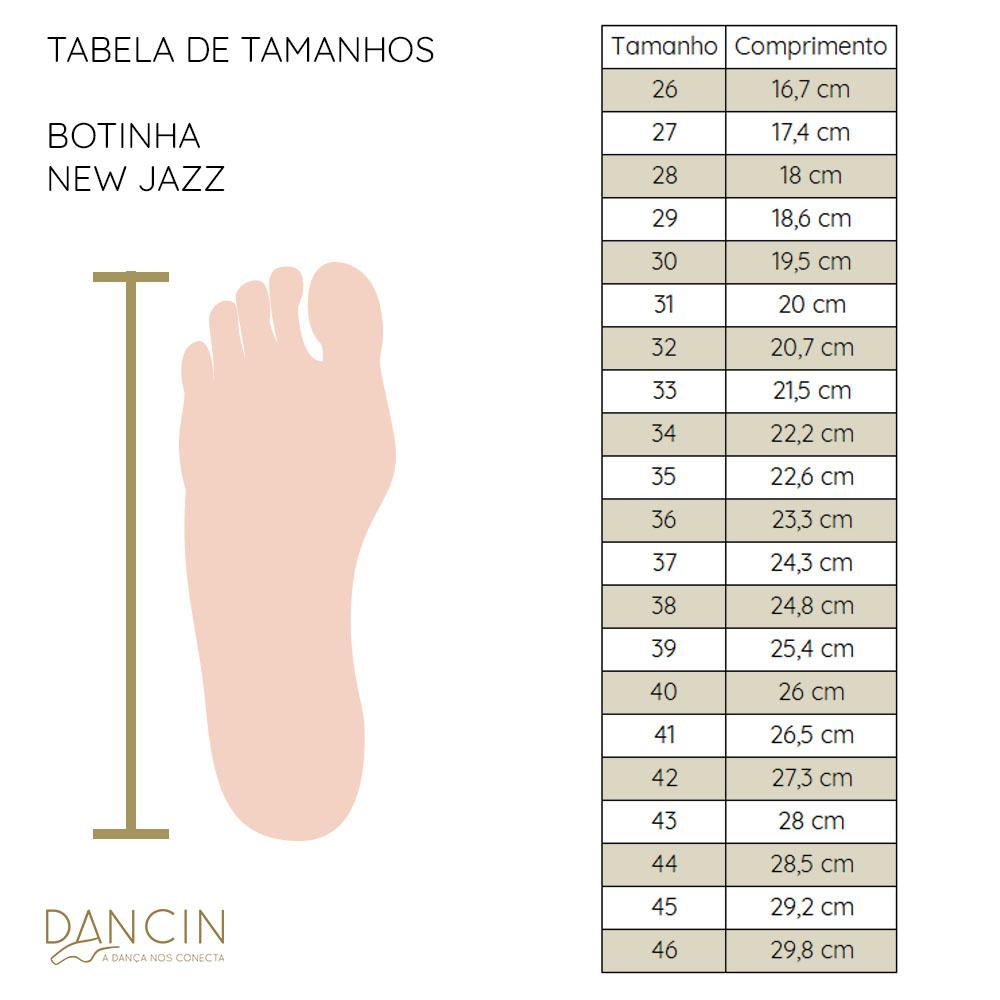 Botinha New Jazz - couro com neoprene