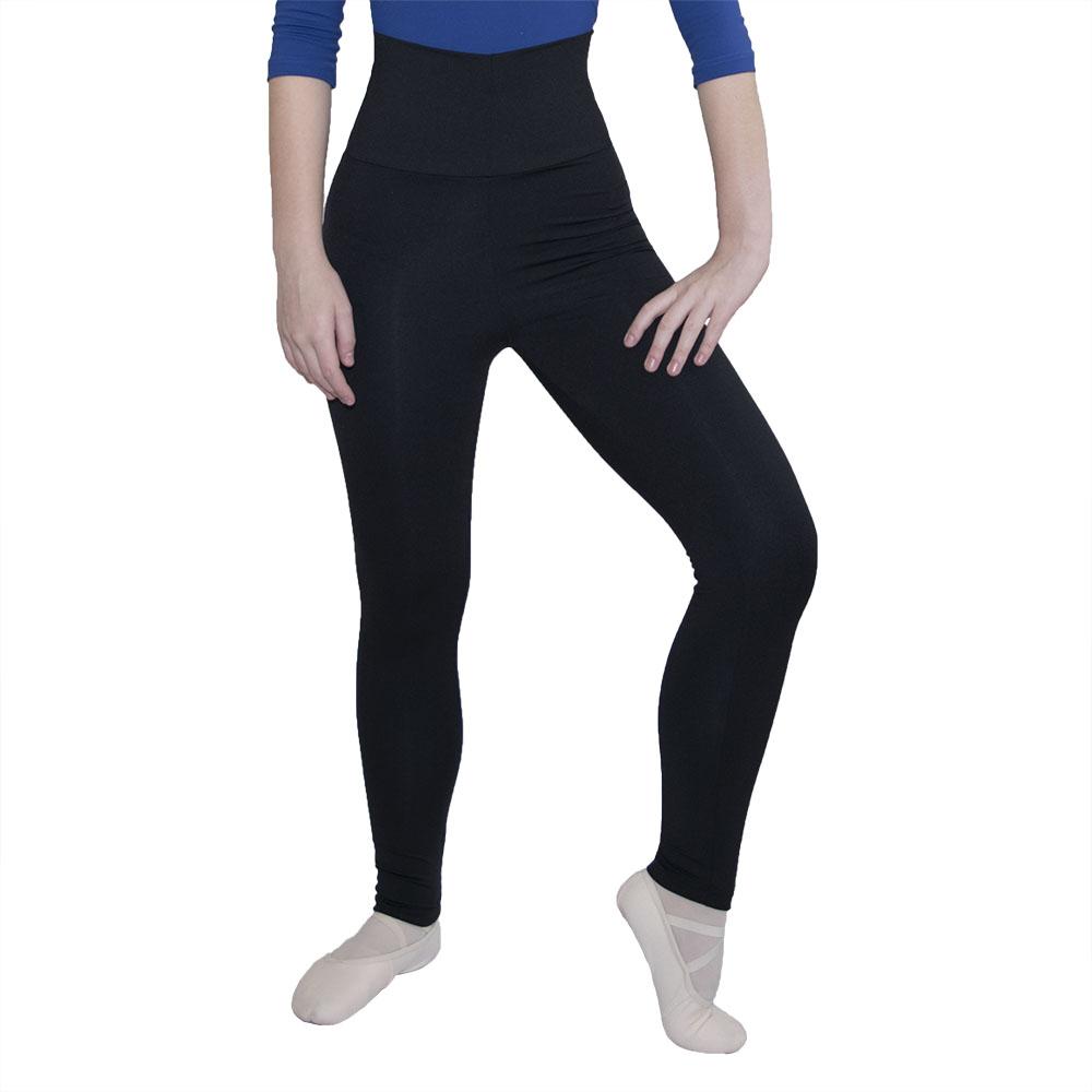Calça legging cós alto acinturado - Suplex