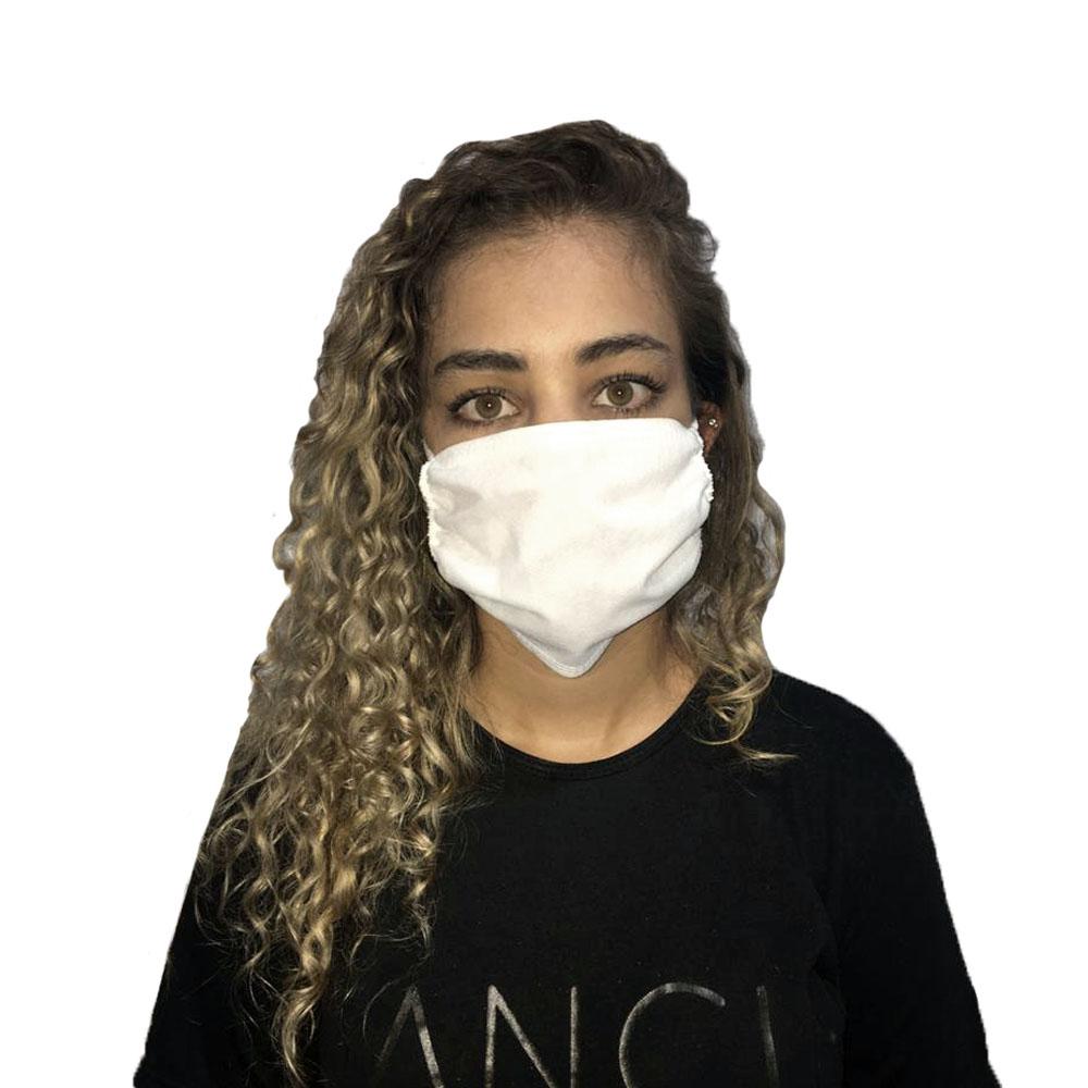 Máscara em TNT Triplo Unisex Descartável 100un