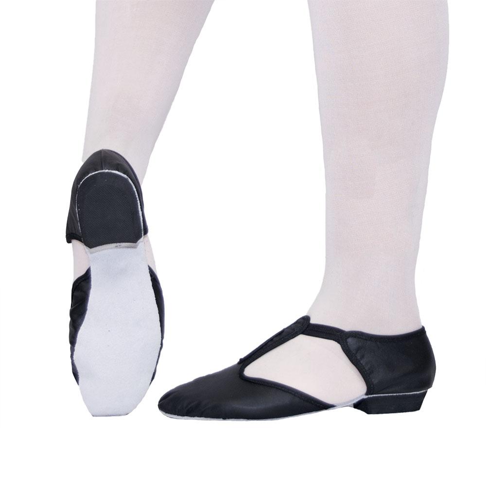 Sapato Professor sola inteira - Couro