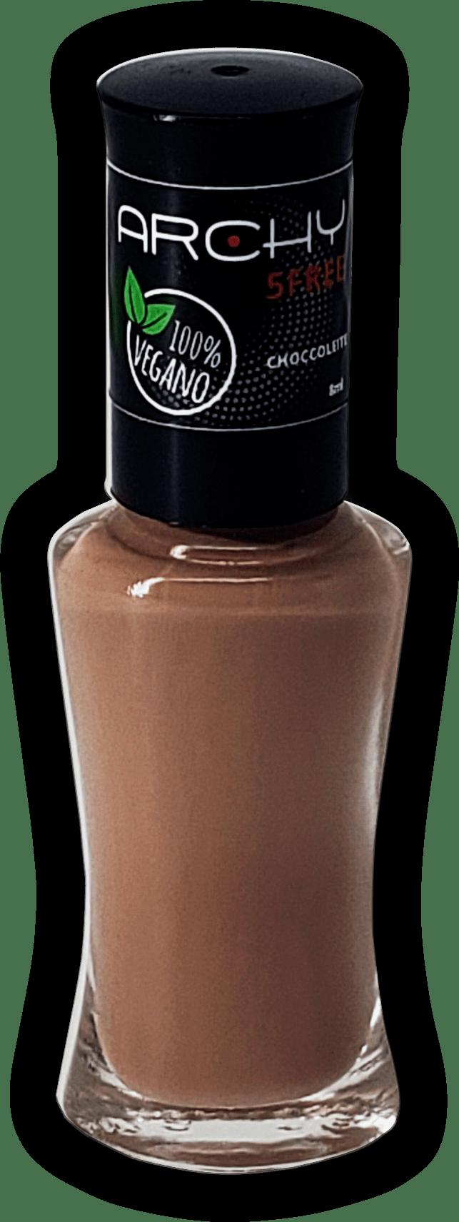 Esmalte Vegano 5 Free Chocoleite - Archy Make Up