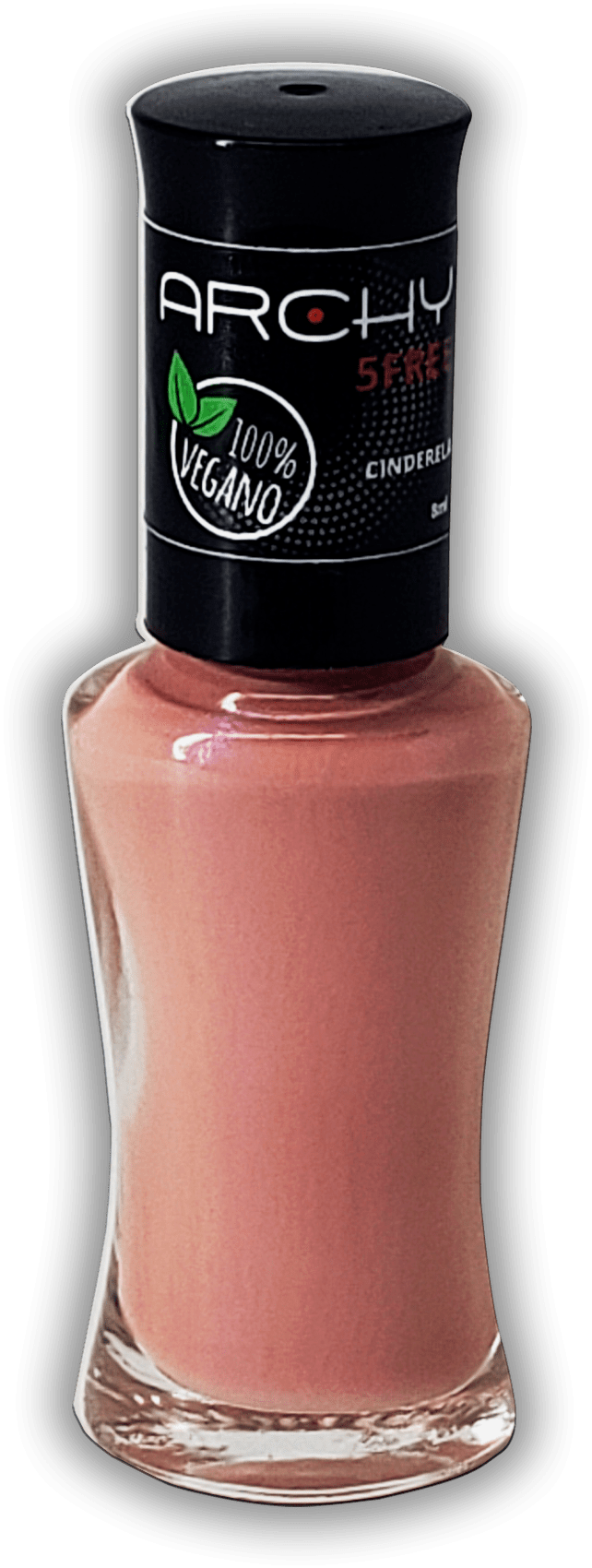 Esmalte Vegano 5 Free Cinderela - Archy Make Up