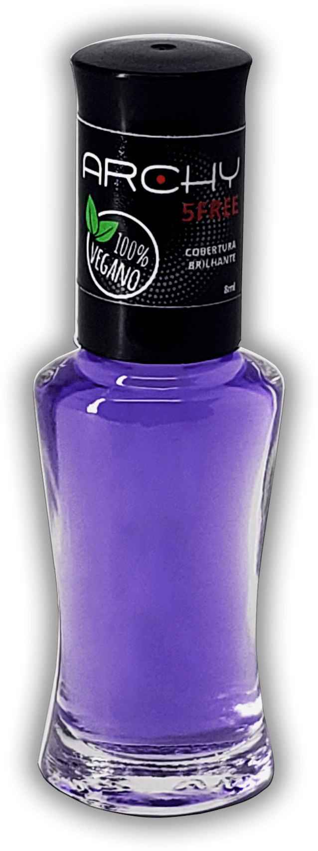 Esmalte Vegano 5 Free Cobertura Brilhante - Archy Make Up