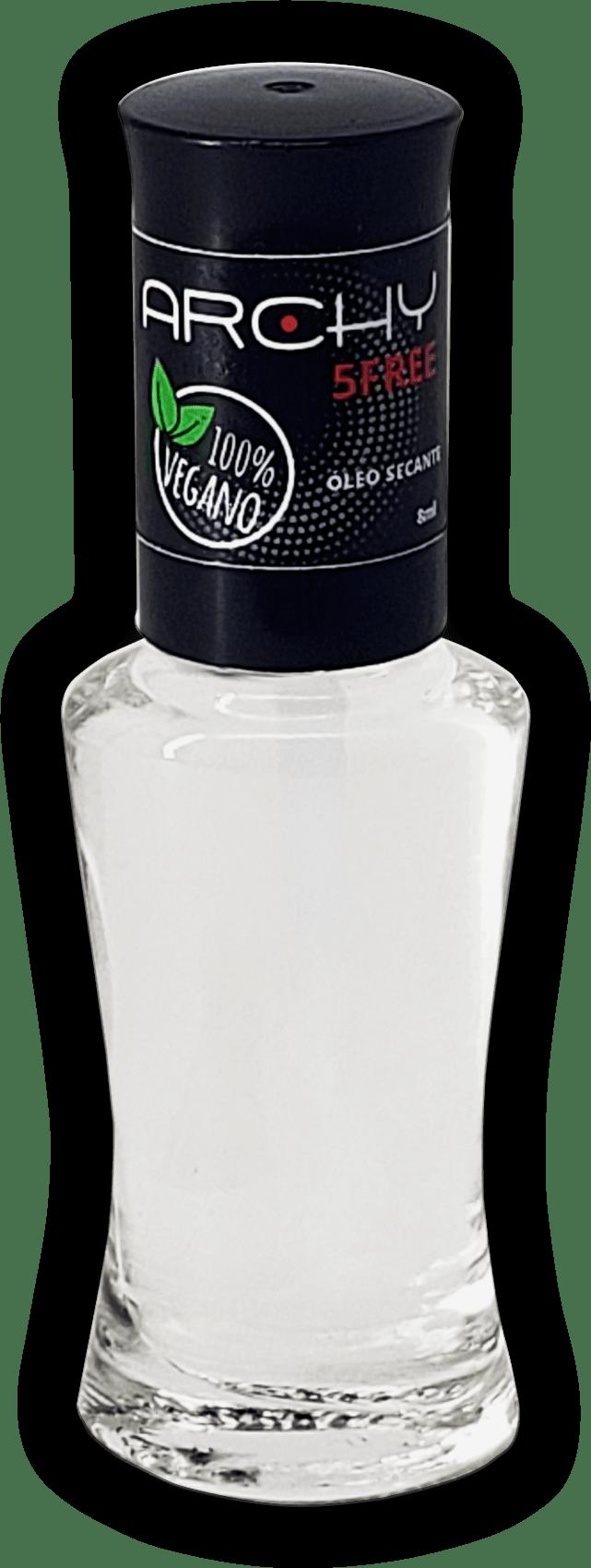 Esmalte Vegano 5 Free Óleo Secante - Archy Make Up