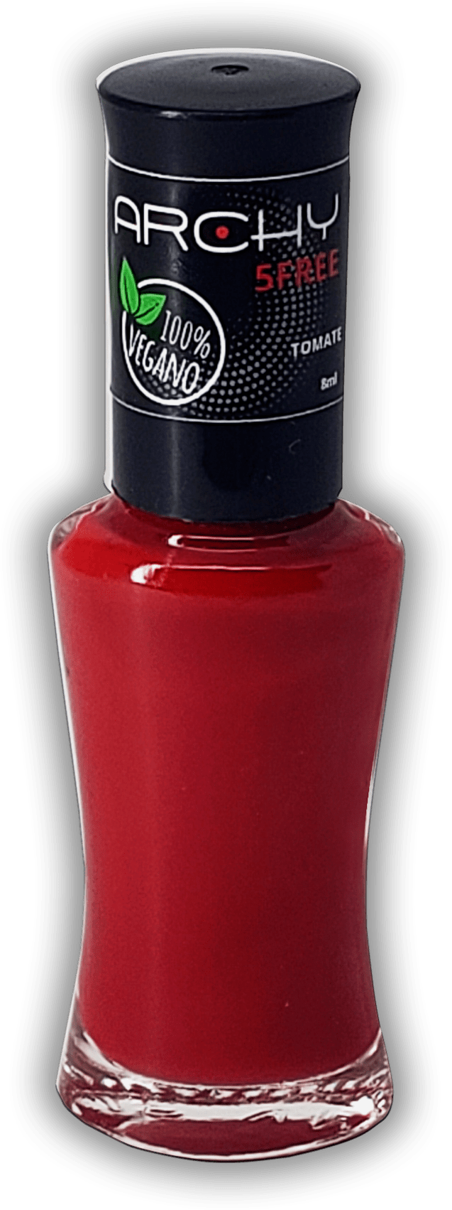 Esmalte Vegano 5 Free Tomate- Archy Make Up