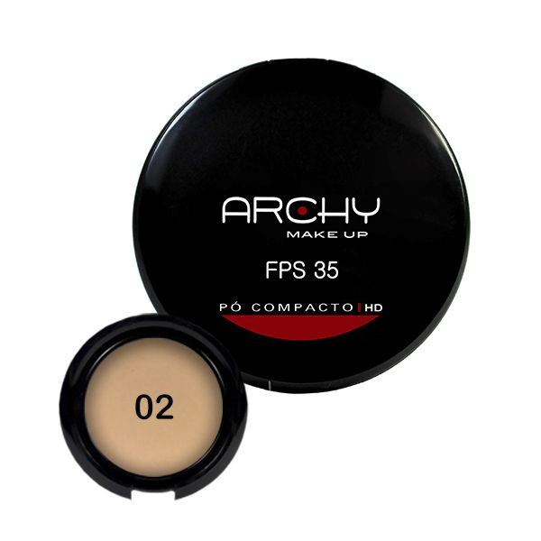 Pó Compacto Nº 2 FPS 35 Archy Make Up
