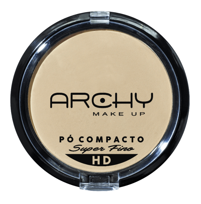 Pó Compacto Super Fino Nº 3 Archy Make Up