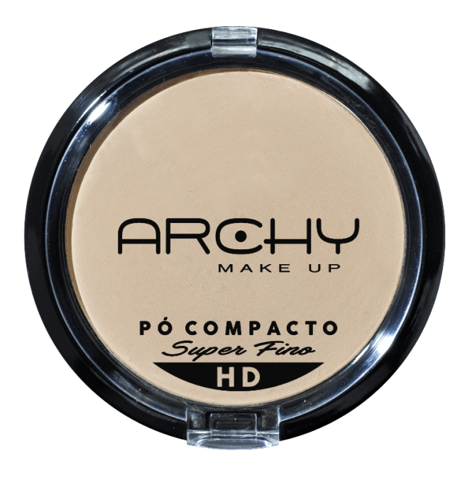 Pó Compacto Super Fino Nº 4 Archy Make Up