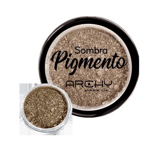 Sombra Pigmento Dourado Nº 01 Archy Make Up