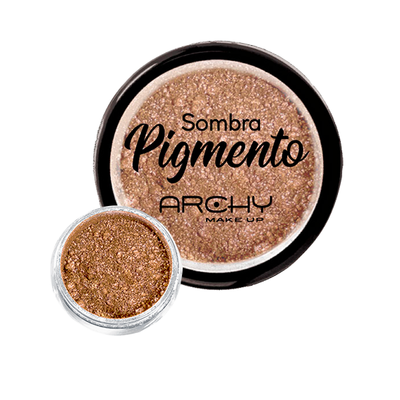 Sombra Pigmento Cobre Nº 02 Archy Make Up