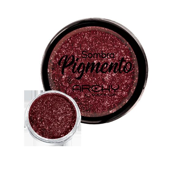 Sombra Pigmento Vermelha Nº 05 Archy Make Up