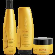 Kit Repair System Aneethun Shampoo + Máscara  + Finalizador