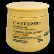 Máscara L'oreal Professionnel Nutrifier Glycerol + Óleo de Coco 250g