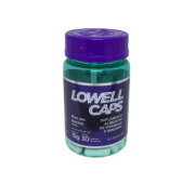 Lowell Caps Suplemento Alimentar de Vitaminas e Minerais 15 g