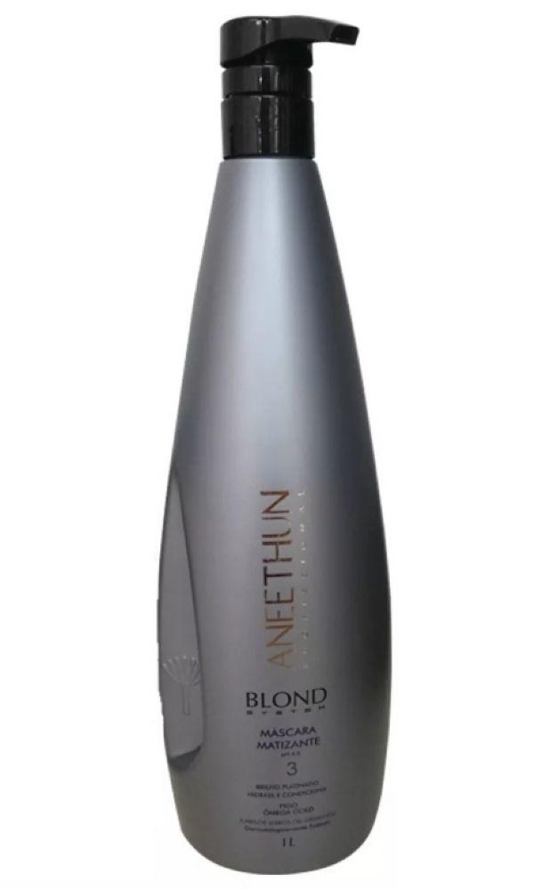 Aneethun Máscara Matizante Blond System - 1lt