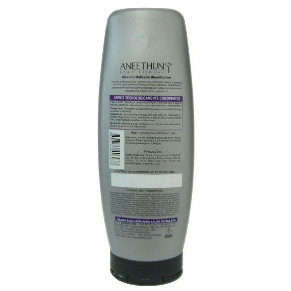 Aneethun Máscara Matizante Blond System - 250g