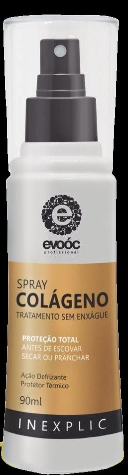 Evoóc Profissional  Spray Colágeno Inexplic  90 ml