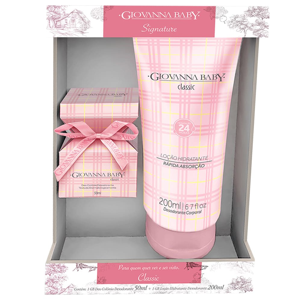 Kit Giovanna Baby Signature Classic DUO