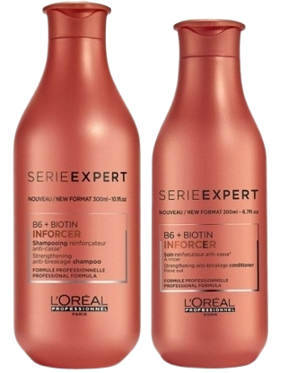 Kit L'Oréal Professionnel Inforcer DUO pequeno