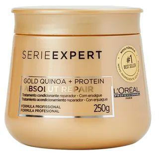 Kit L'Oréal Professionnel Absolut Repair Cortex Lipidium + Gold Quinoa TRIO