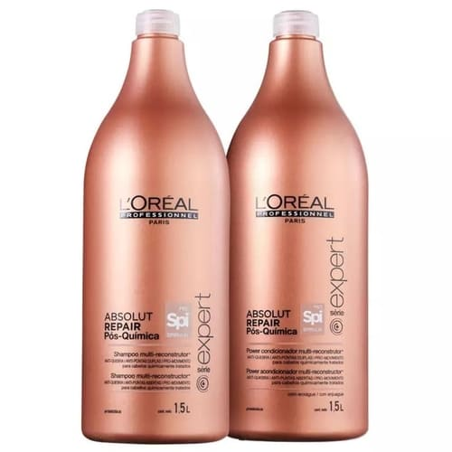 Kit L'Oréal Professionnel Absolut Repair Pós Química DUO