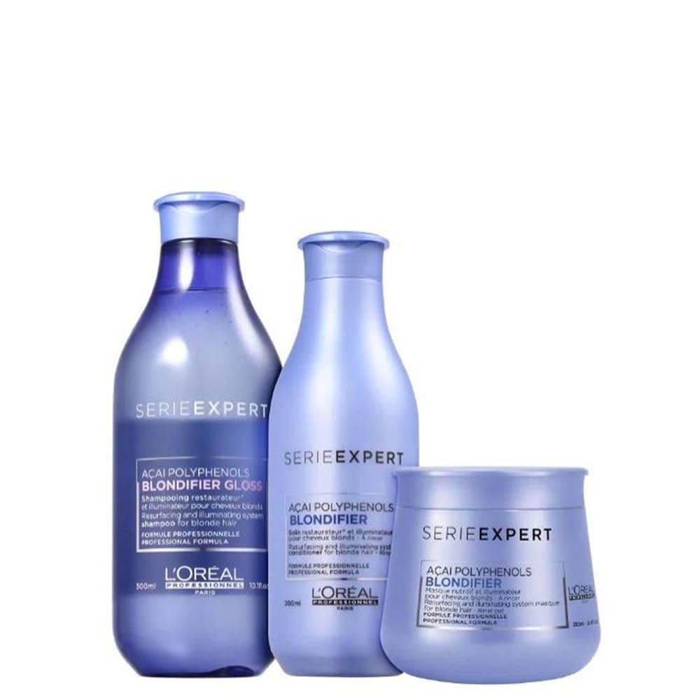 Kit L'Oréal Professionnel Blondifier Gloss TRIO