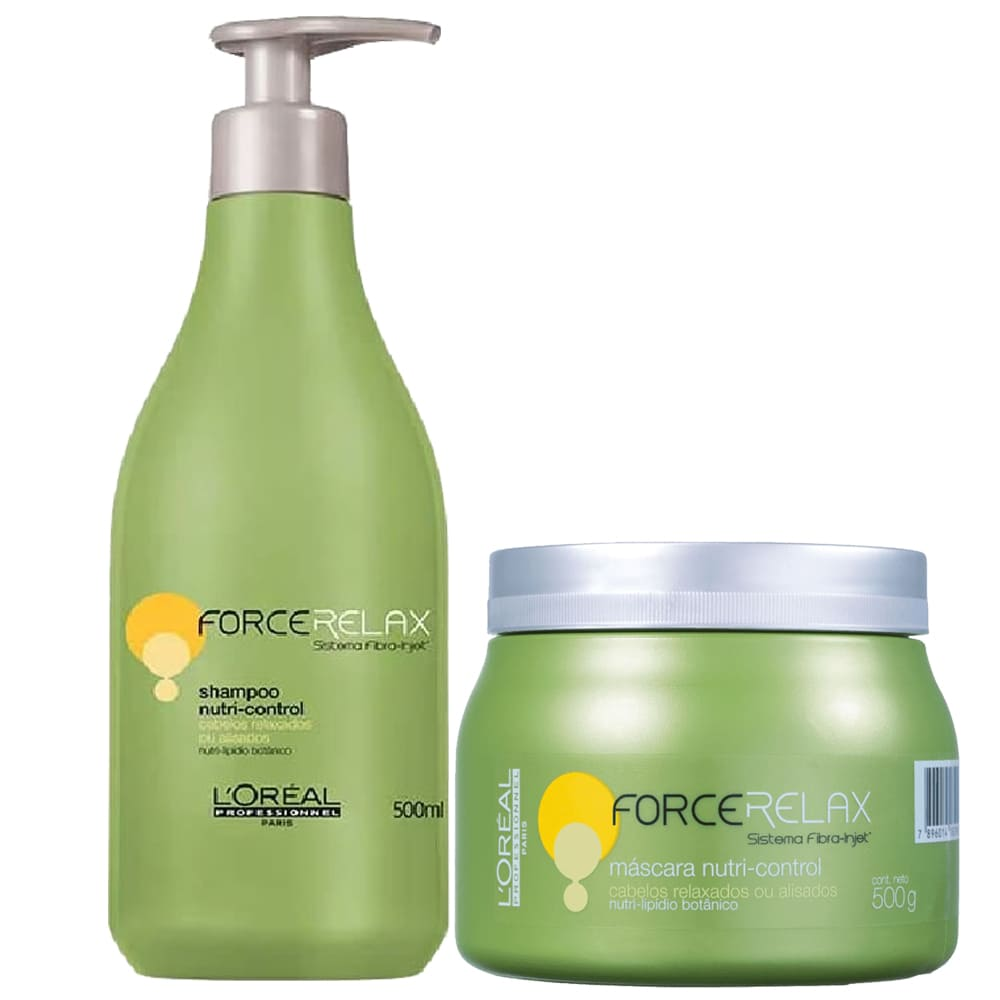 Kit L'oreal Professionnel Force Relax  Nutri-Control DUO