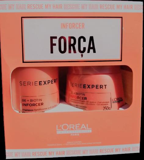 Kit L'Oréal Professionnel Inforcer Duo (2 Produtos ) Cabelos Enfraquecidos
