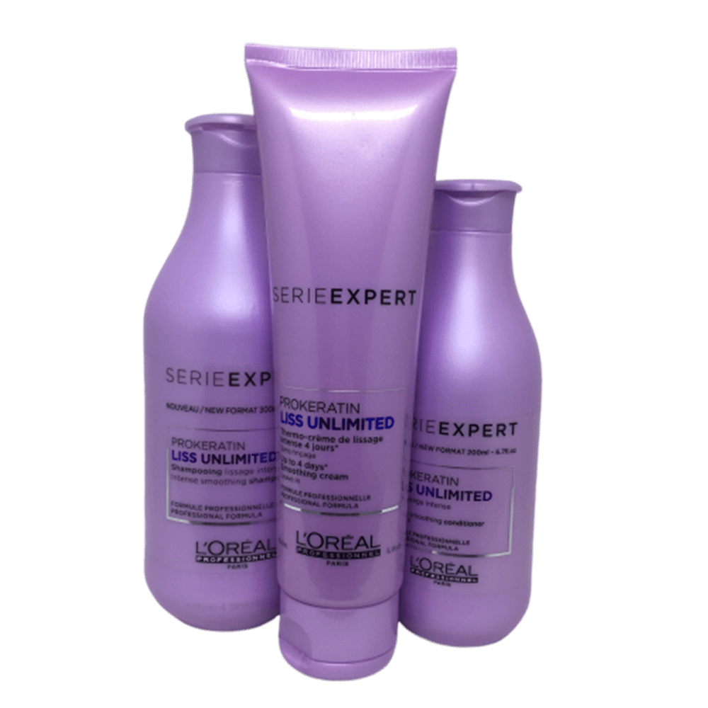 Kit L'Oréal Professionnel Liss Unlimited
