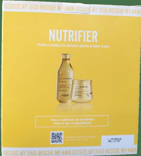 Kit L'Oréal Professionnel Nutrifier Duo para Nutrição