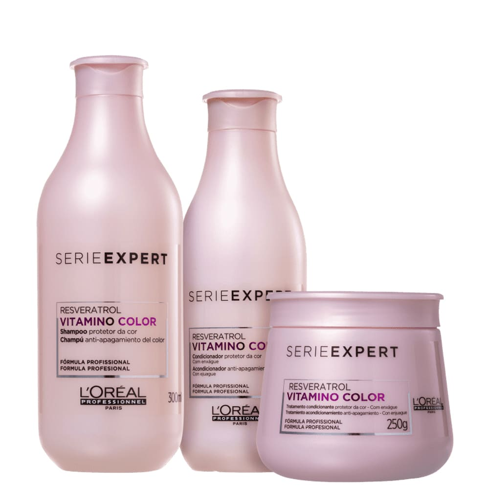 Kit L'oreal Professionnel Vitamino Color Resveratrol TRIO