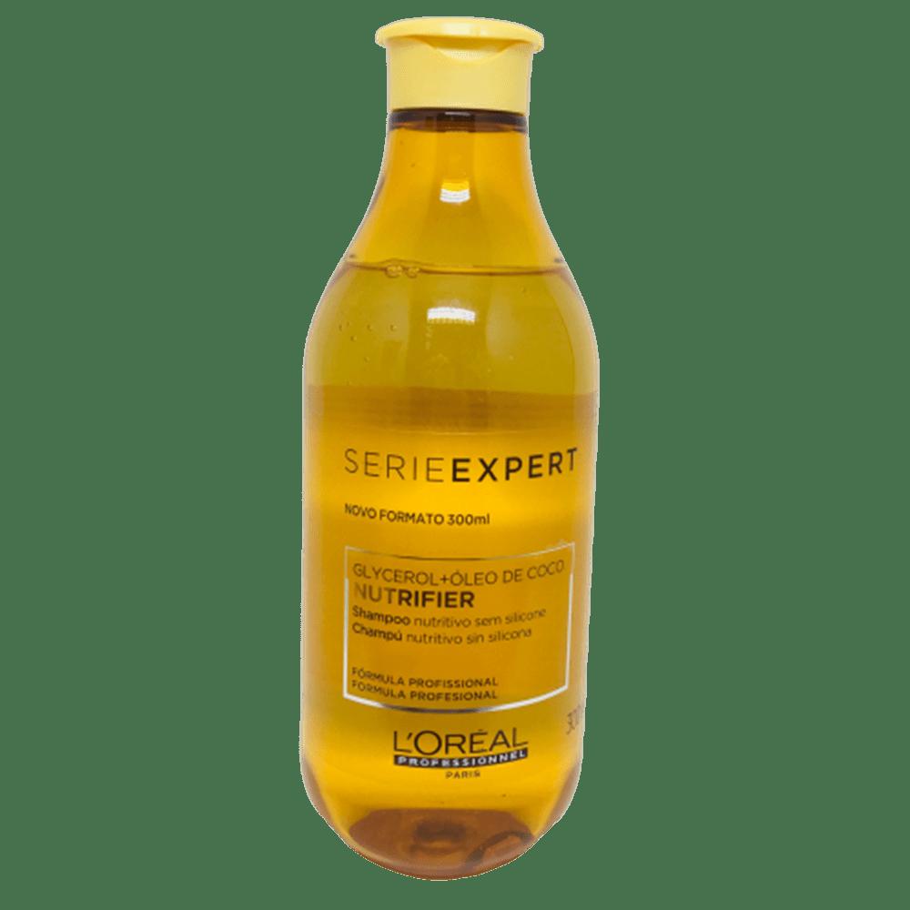 Kit L'Oréal Profissionel Nutrifier Glycerol + Óleo de Coco