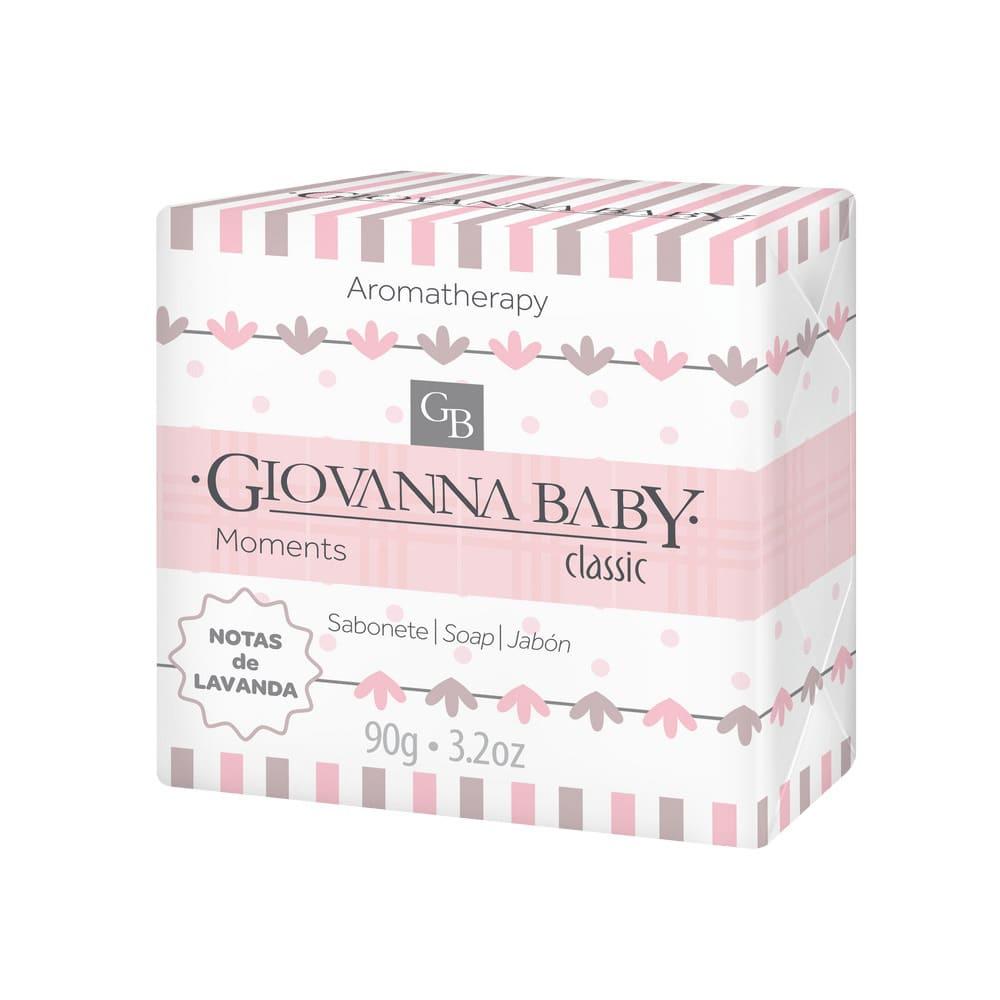 Kit Sabonete em Barra Giovanna Baby Classic Moments