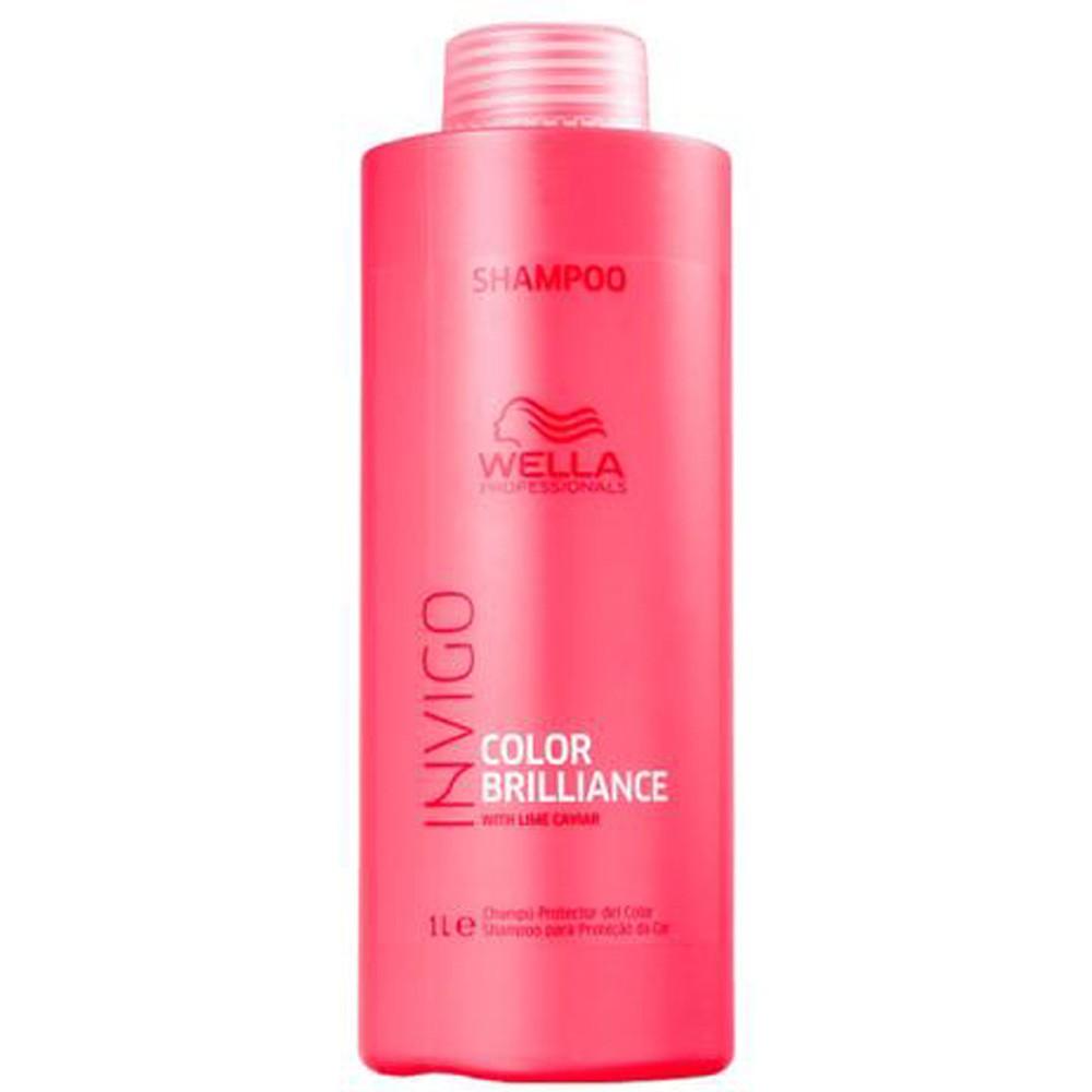 Kit Invigo Color Brilliance Tamanho Profissional Wella - Shampoo + Condicionador