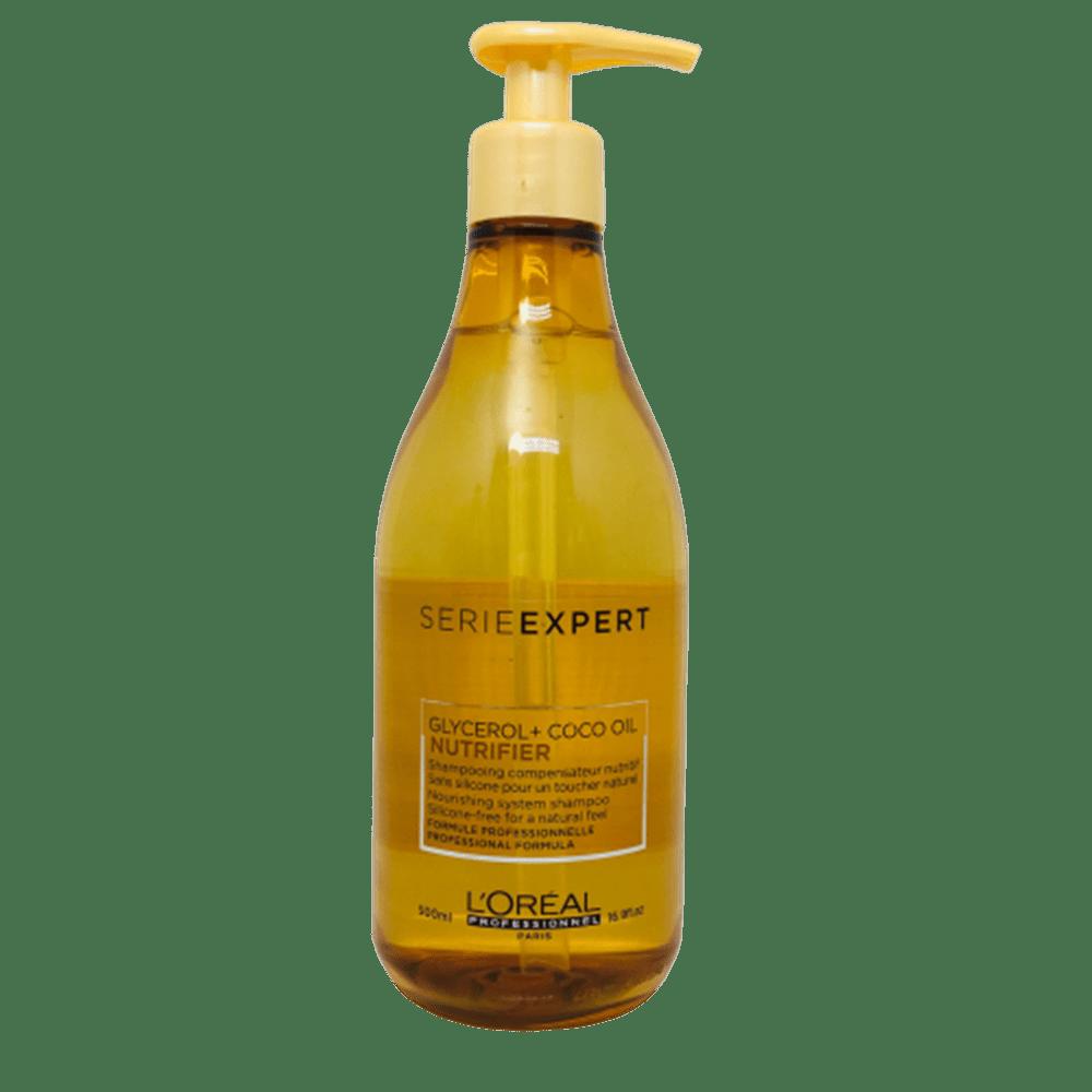 Shampoo L'Oréal Professionnel Nutrifier Glycerol + Óleo de Coco 500ml