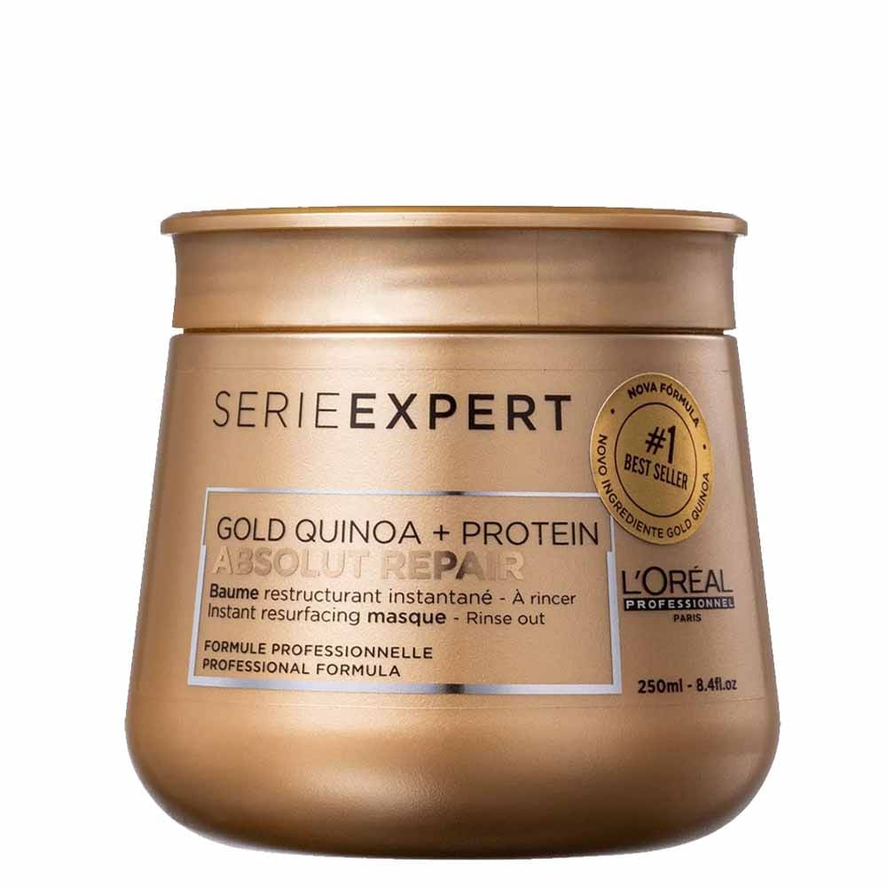Máscara L'Oréal Professionnel Absolut Repair Gold Quinoa + Protein 250g