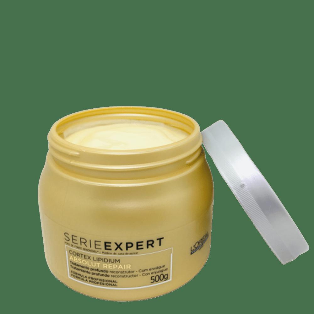 L'Oréal Professionnel Máscara Absolut Repair Cortex Lipidium - 500g
