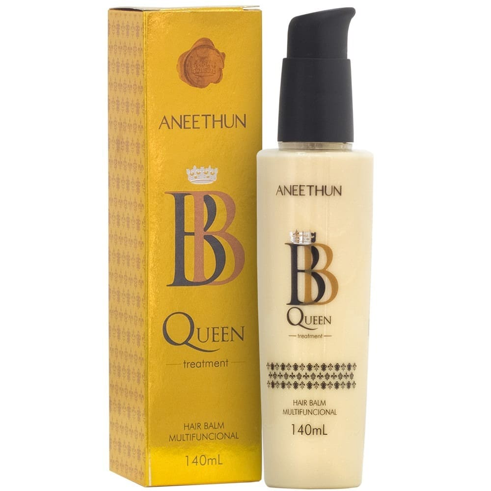 Leave-in Aneethun BB Queen Hair Balm Multifuncional 140ml